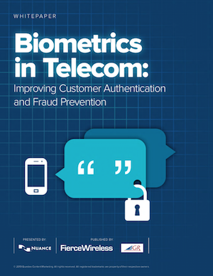 Biometrics in Telecom: Improving Customer Authentication and Fraud Prevention image