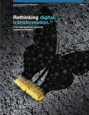 Rethinking digital transformation: A survival guide for customer experience leaders.