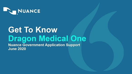 Get to Know Dragon Medical One webinar thumbnail