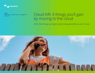 Nuance OnDemand NOD Cloud IVR Hosted IVR