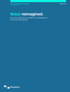 AI Voice Recognition Systems Nuance