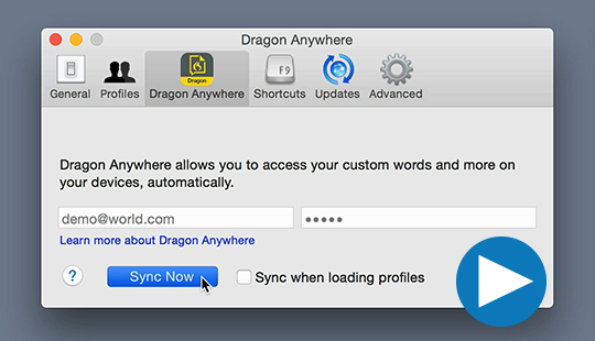 Dragon Anywhere - Synchronize with Dragon desktop for seamless productivity