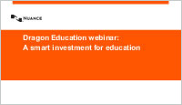 Dragon Education Webinar