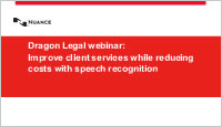 Dragon Legal Webinar