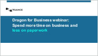 Dragon small business webinar