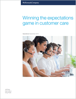 McKinsey Research: Winning the Expectations Game