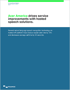 Acer America Drives Customer Service Improvements case study