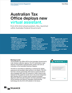 Australian Tax Office deploys new virtual assistant