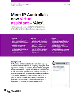 Meet IP Australia's new virtual assistant – 'Alex'