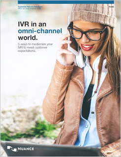 """IVR in an Omni-channel World guide"""