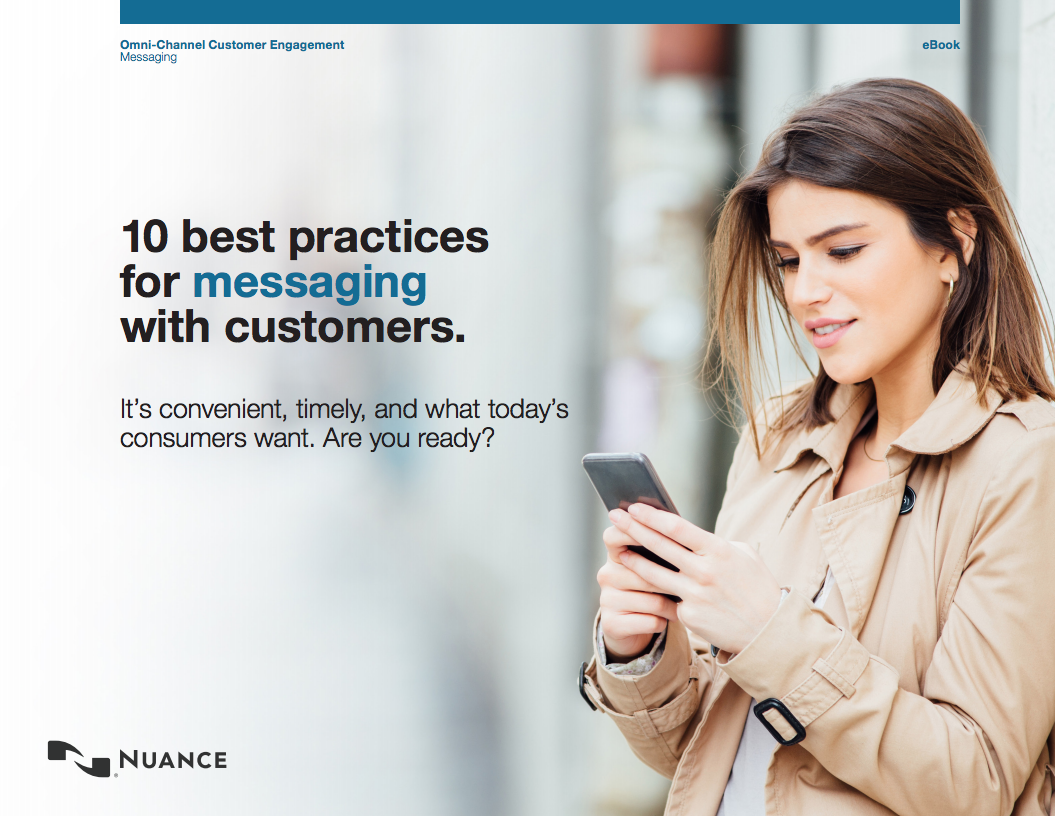 Best Practices for Customer Service Messaging ebook