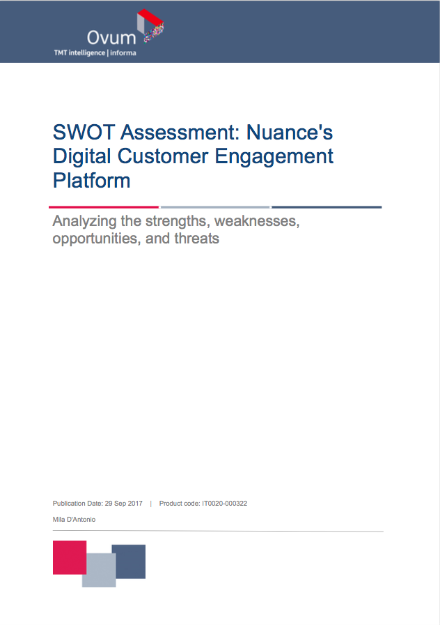 Digital customer engagement analyst report