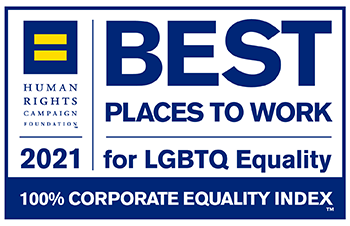 Best places to work for LGTBTQ Equality