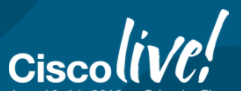 Logotipo de Cisco Live