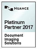Nuance Document Imaging Solutions Platinum Partner seal