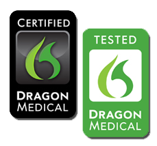 Dragon Medical Certified EHRs icon logo