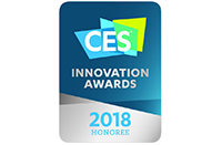 Gehonoreerd voor CES Innovation Awards 2018