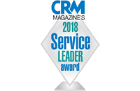 CRM Magazine 2018 Service Leader Award