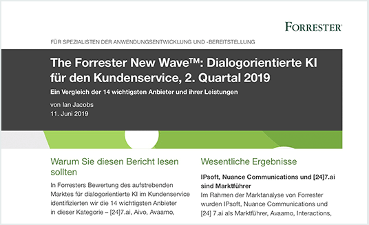The Forrester New Wave