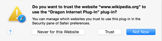 Dragon Web Extensions